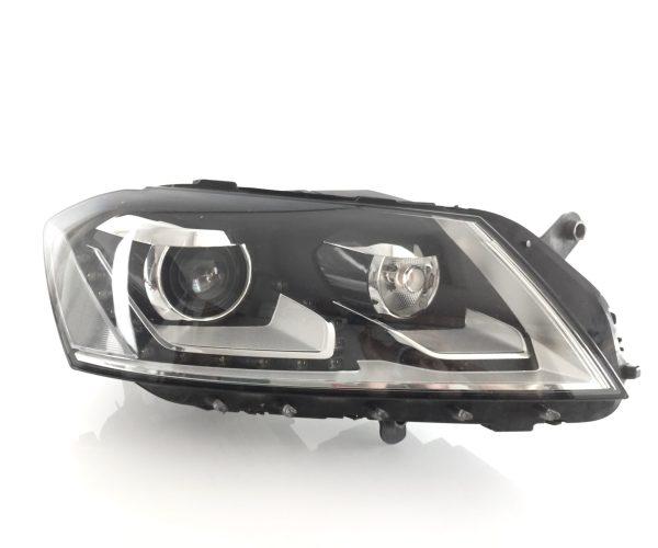 VW Passat B7 3C (2010-2014) Scheinwerfer Xenon LED rechts mit Kurvenlicht incl. Steuergeräte 3AB941034 90005339 8K0941597B 3D0941329A